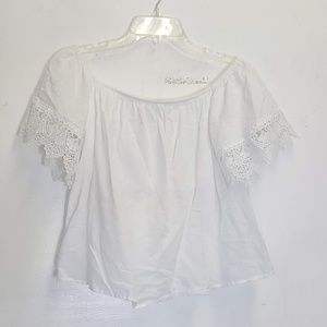Express cotton off shoulder blouse Small